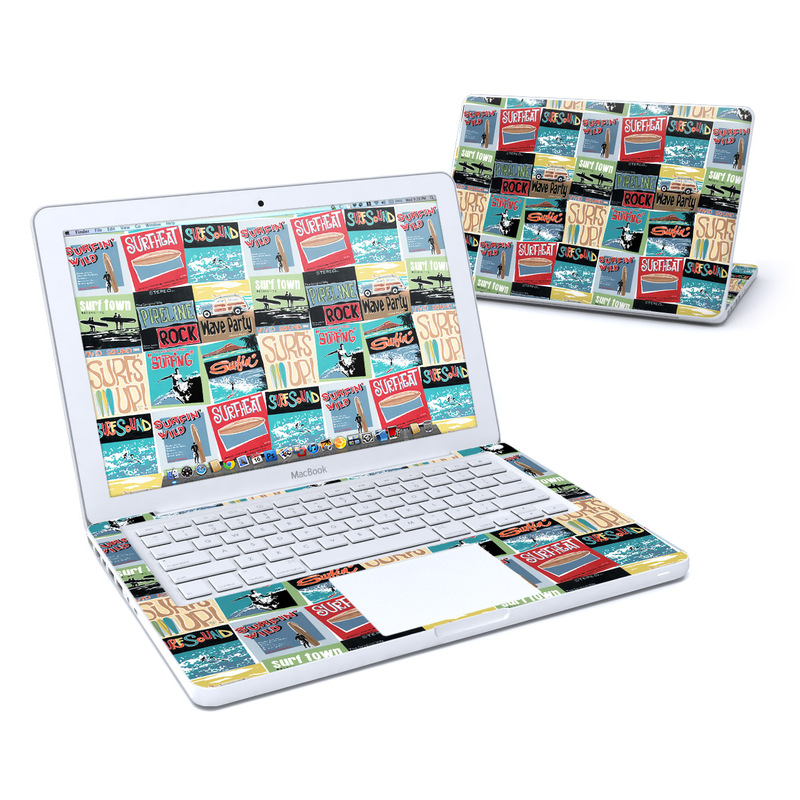 Surf Sounds MacBook 13-inch Skin