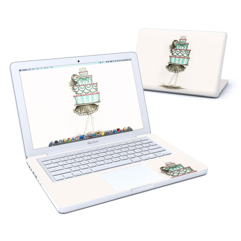 She Takes The Cake Old MacBook 13-inch Skin