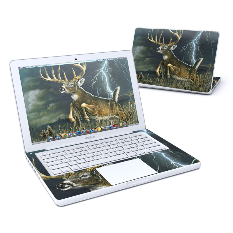 Thunder Buck MacBook 13-inch Skin