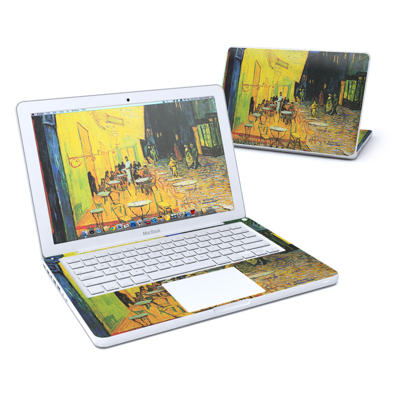 Cafe Terrace At Night Old MacBook 13-inch Skin