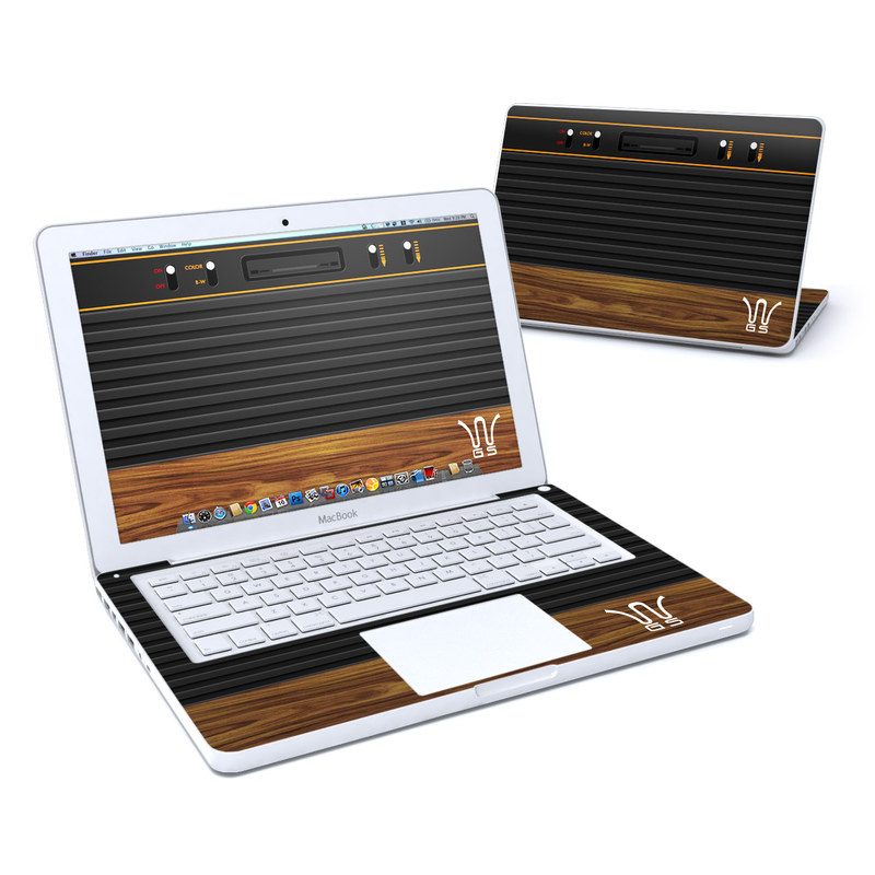 Wooden Gaming System MacBook 13-inch Skin