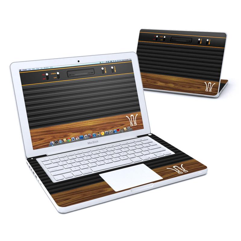 Wooden Gaming System MacBook 13-inch Skin