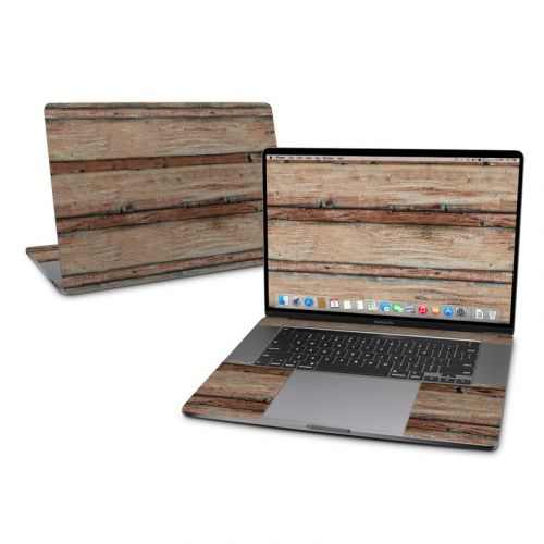 Boardwalk Wood MacBook Pro 16-inch Skin
