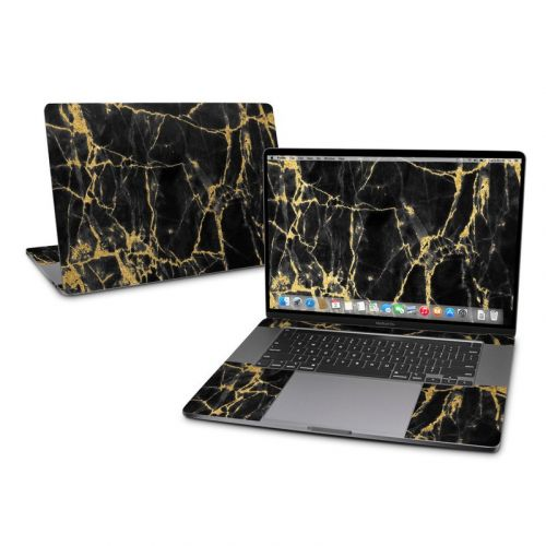 Black Gold Marble MacBook Pro 16-inch Skin