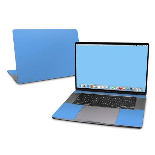 Solid State Blue MacBook Pro 16-inch Skin
