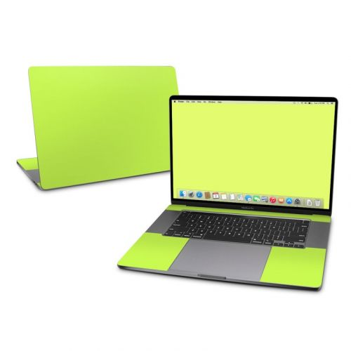 Solid State Lime MacBook Pro 16-inch Skin