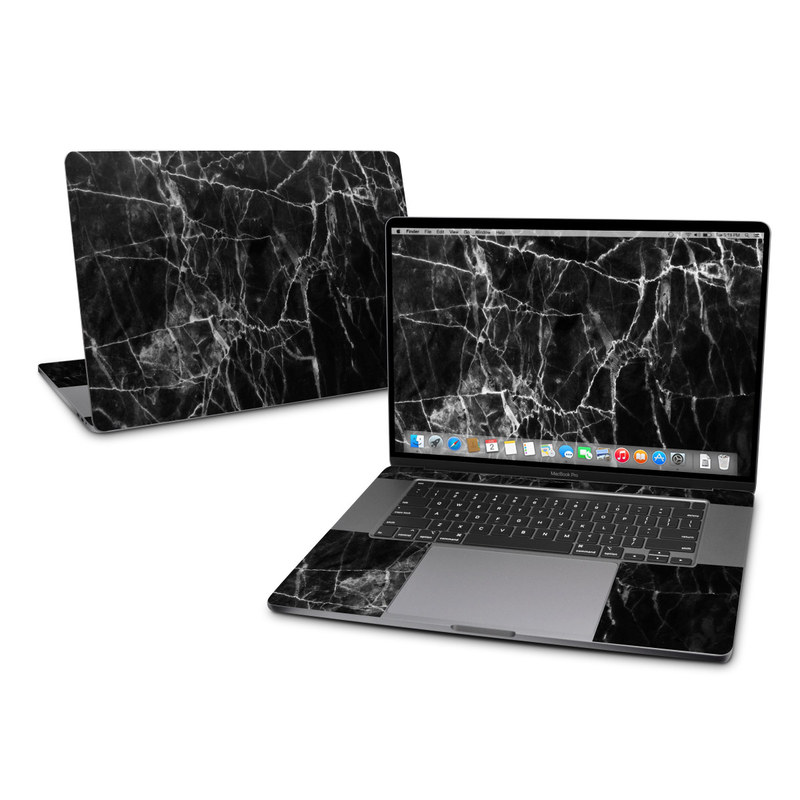 MacBook Pro 16-inch Skin design of Black, White, Nature, Black-and-white, Monochrome photography, Branch, Atmosphere, Atmospheric phenomenon, Tree, Sky with black, white colors