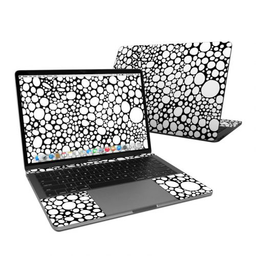 BW Bubbles MacBook Pro 13-inch Skin