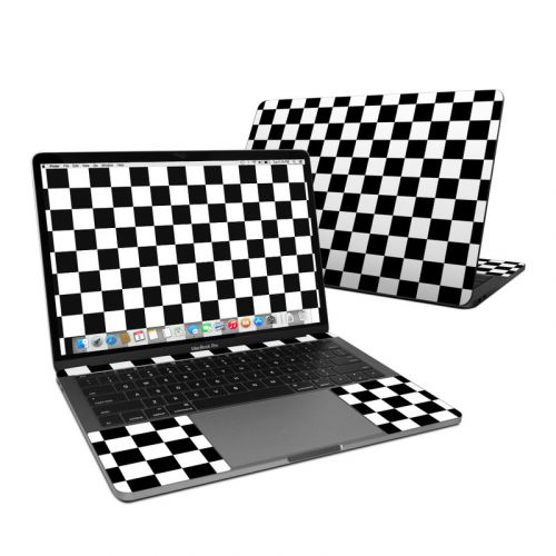 Checkers MacBook Pro 13-inch Skin