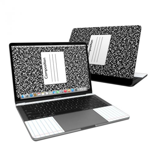 Composition Notebook MacBook Pro 13-inch Skin