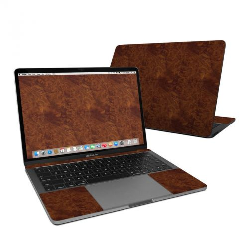 Dark Burlwood MacBook Pro 13-inch (2016) Skin