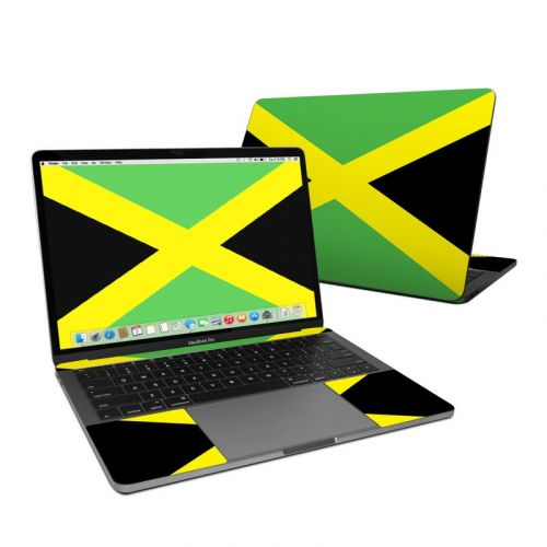Jamaican Flag MacBook Pro 13-inch Skin
