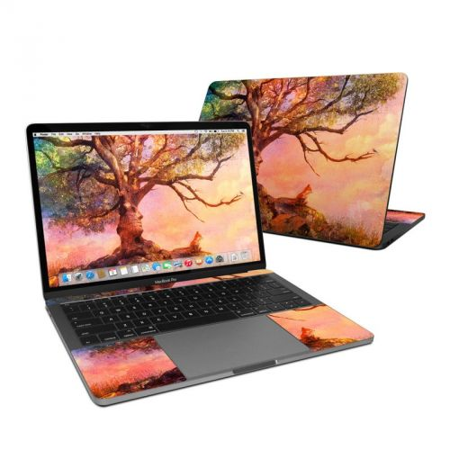 Fox Sunset MacBook Pro 13-inch Skin