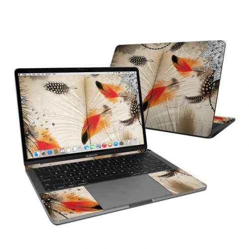 Feather Dance MacBook Pro Pre 2020 13-inch Skin