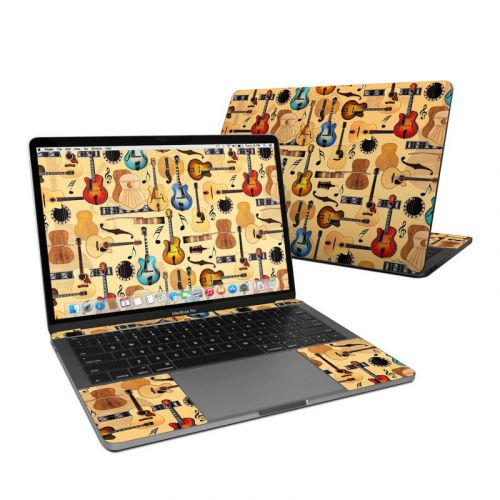 Guitar Collage MacBook Pro 13-inch (2016) Skin