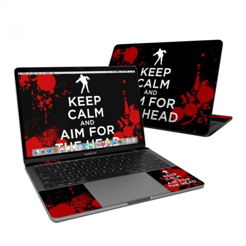 Keep Calm - Zombie MacBook Pro 13-inch Skin