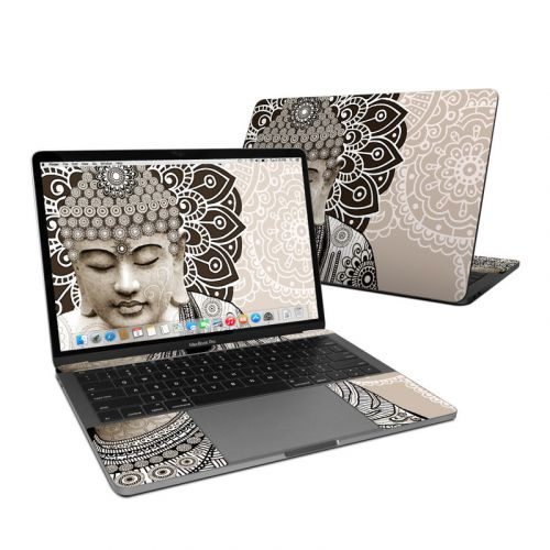 Meditation Mehndi MacBook Pro 13-inch Skin