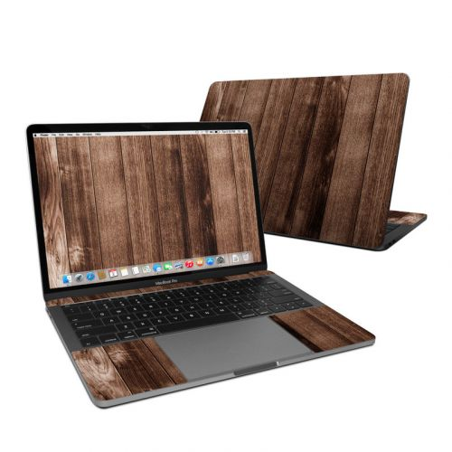 Stained Wood MacBook Pro 13-inch Skin