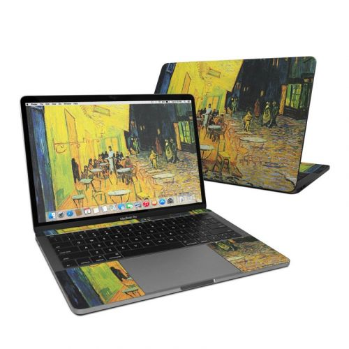Cafe Terrace At Night MacBook Pro 13-inch (2016) Skin