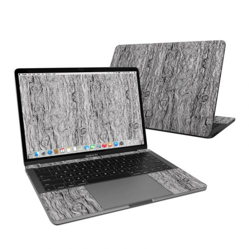 Woodgrain MacBook Pro 13-inch Skin