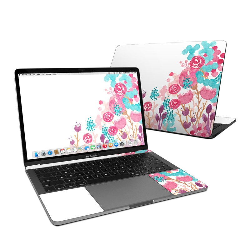 Blush Blossoms MacBook Pro 13-inch Skin