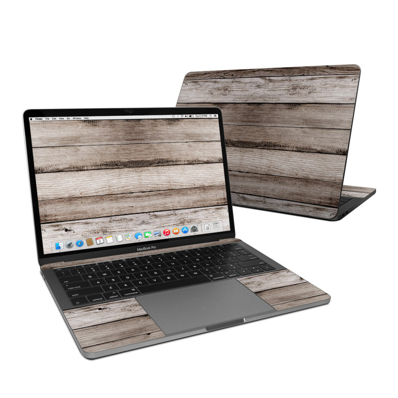 Barn Wood MacBook Pro 13-inch Skin