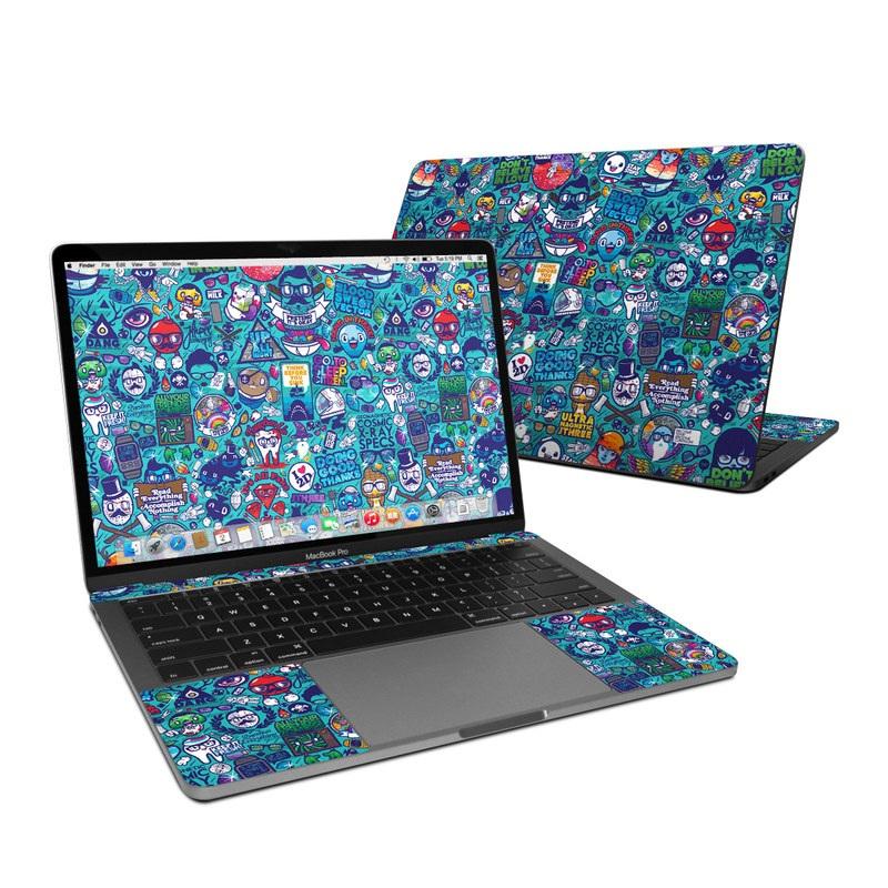 Cosmic Ray MacBook Pro 13-inch Skin