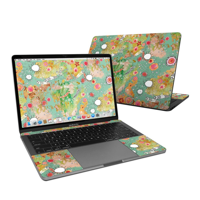 Feathers Flowers Showers MacBook Pro 13-inch Skin