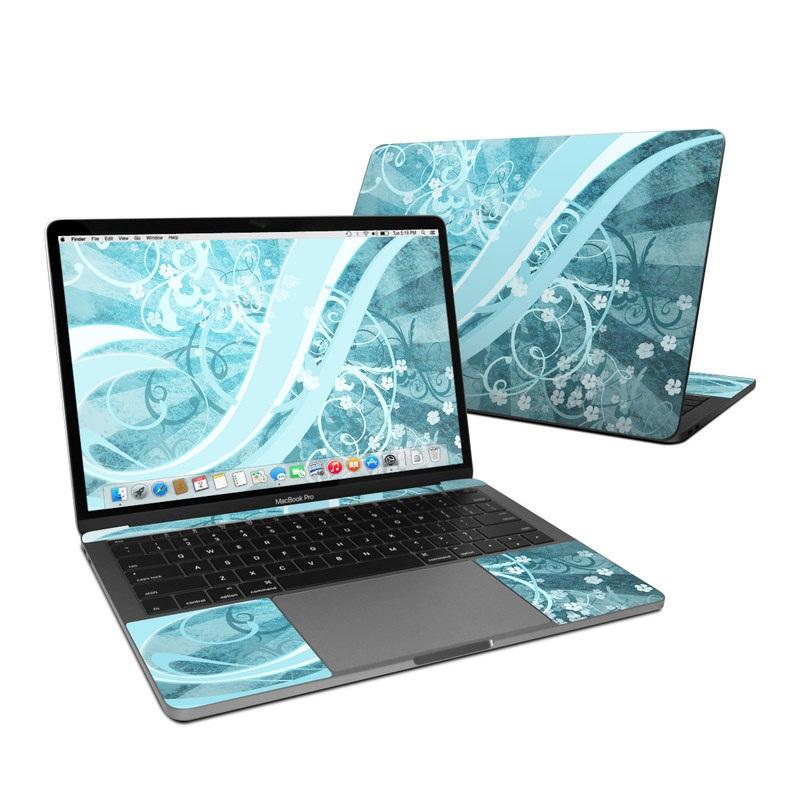 Flores Agua MacBook Pro 13-inch Skin