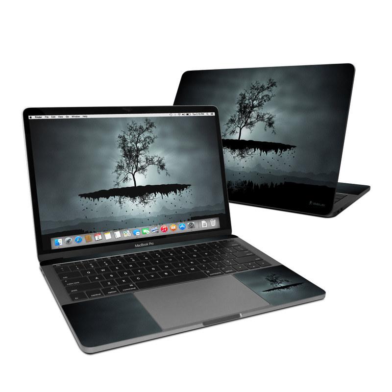 Flying Tree Black MacBook Pro 13-inch Skin