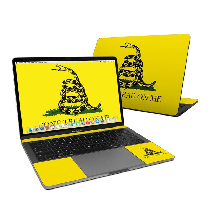 Gadsden Flag MacBook Pro 13-inch Skin