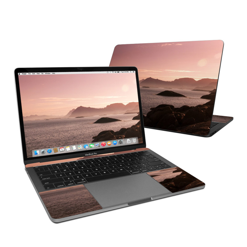 Pink Sea MacBook Pro 13-inch Skin