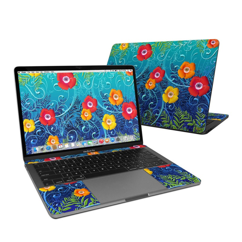Poppies MacBook Pro 13-inch (2016) Skin