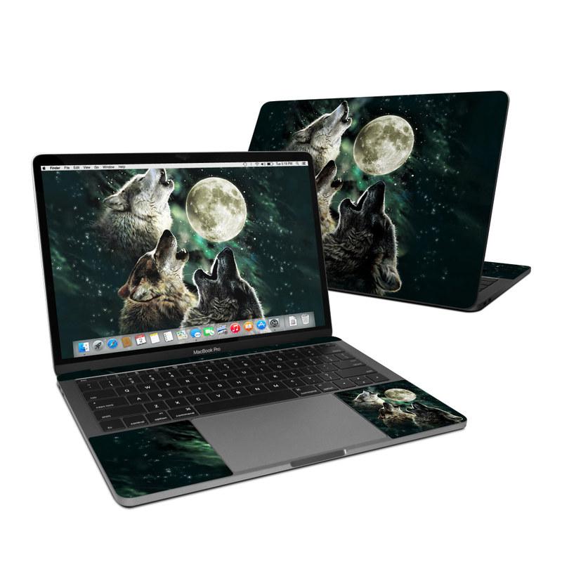 Three Wolf Moon MacBook Pro 13-inch Skin
