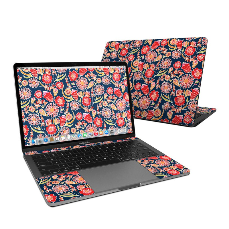 Wild Flower MacBook Pro 13-inch Skin