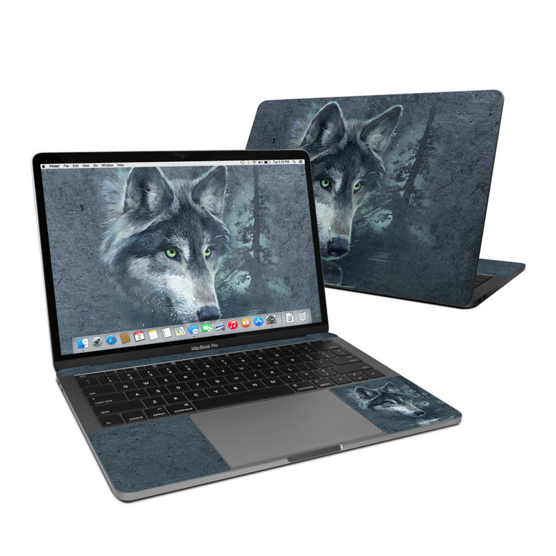 Wolf Reflection MacBook Pro 13-inch (2016) Skin