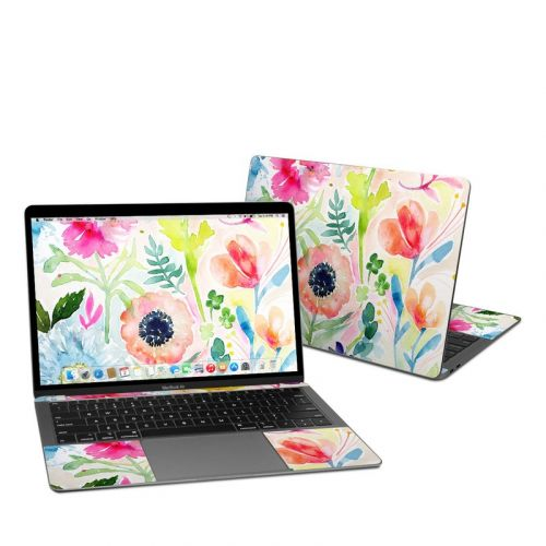 Loose Flowers MacBook Air 13-inch Skin