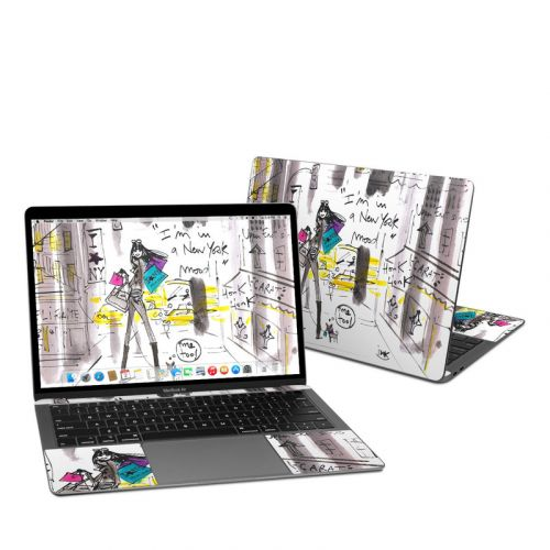 My New York Mood MacBook Air Pre 2020 13-inch Skin
