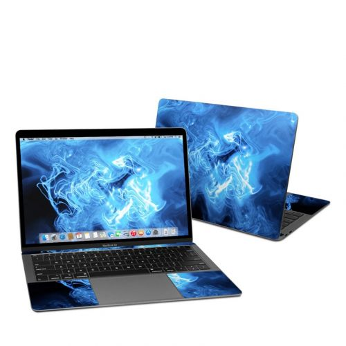 Blue Quantum Waves MacBook Air 13-inch Skin