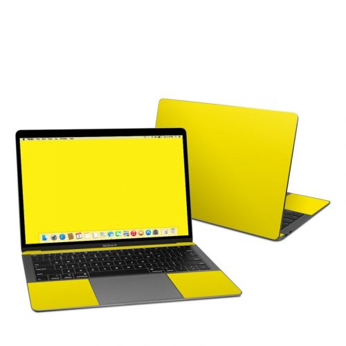 Solid State Yellow MacBook Air 13-inch Skin