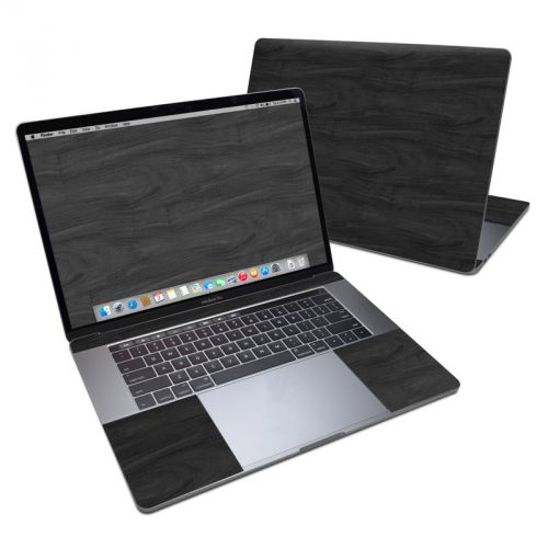 Black Woodgrain MacBook Pro 15-inch Skin