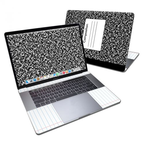 Composition Notebook MacBook Pro 15-inch Skin