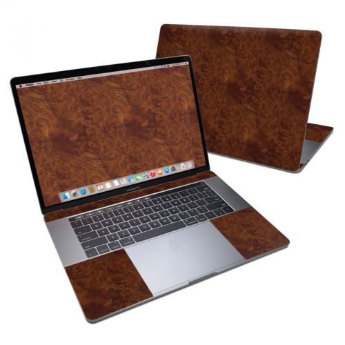 Dark Burlwood MacBook Pro 15-inch (2016) Skin