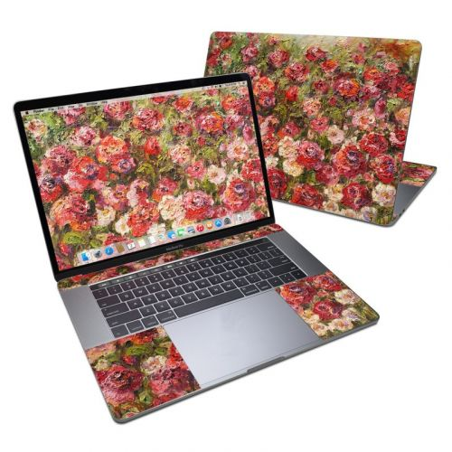 Fleurs Sauvages MacBook Pro 15-inch Skin