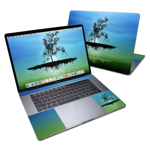 Flying Tree Blue MacBook Pro 15-inch (2016) Skin