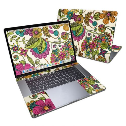 Maia Flowers MacBook Pro 15-inch Skin