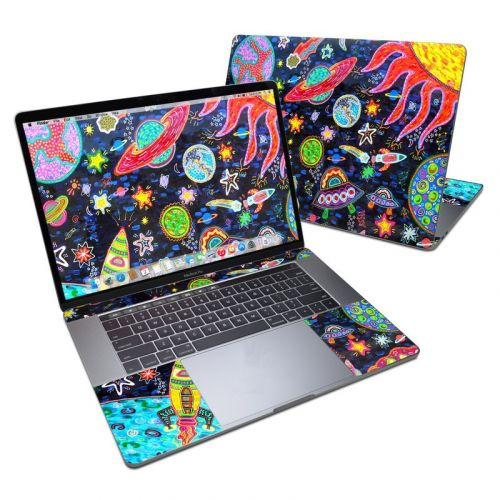 Out to Space MacBook Pro 15-inch Skin