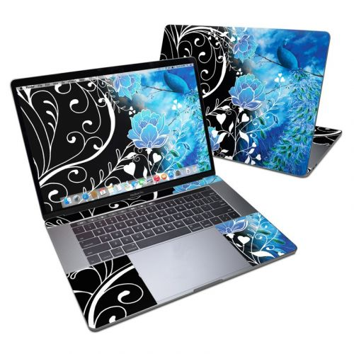 Peacock Sky MacBook Pro 15-inch Skin
