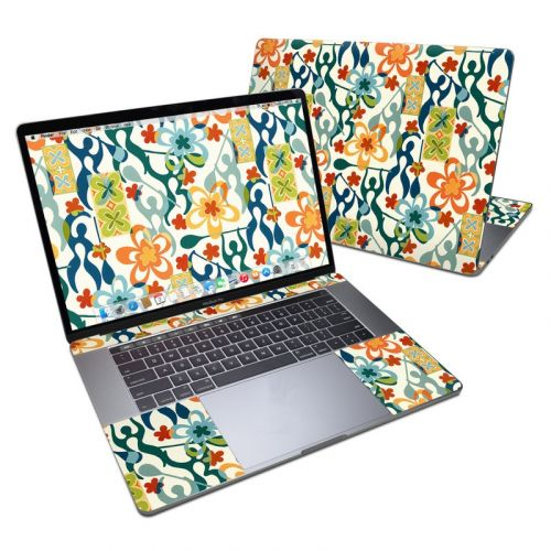 Retro Paddlers MacBook Pro 15-inch Skin