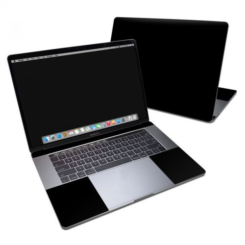 Solid State Black MacBook Pro 15-inch Skin
